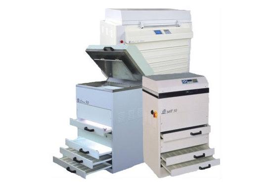 Control de espesor de láminas Fotopolímero